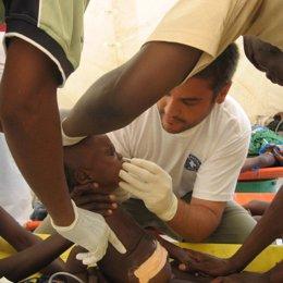 angola colera medicos mundo