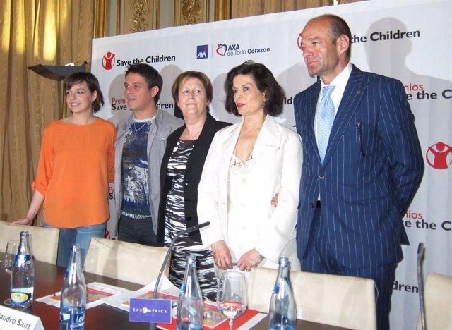 Presentación De Galardonados En La VI Edición De Los Premios Save The Children