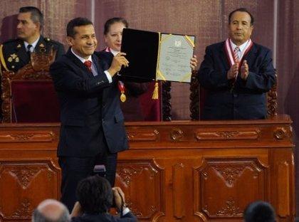 Perú.- Humala recibe las credenciales de presidente electo de Perú