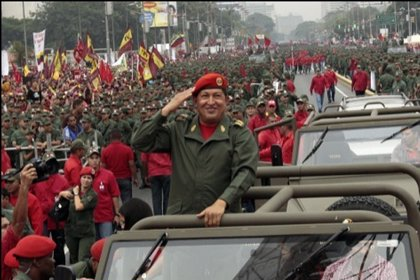 """Venezuela.- Chávez reaparece en Twitter para enviar un saludo al Ejército venezolano y a su """"pueblo armado"""""""