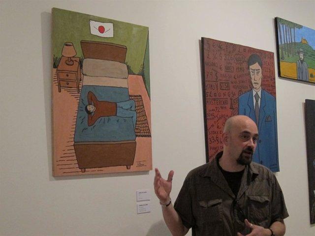 Uno De Los Ilustradores De La Exposición Happy 4 Japan Explica Su Obra
