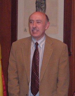 El Alcalde De Alagón (Zaragoza), José María Becerril (PSOE)