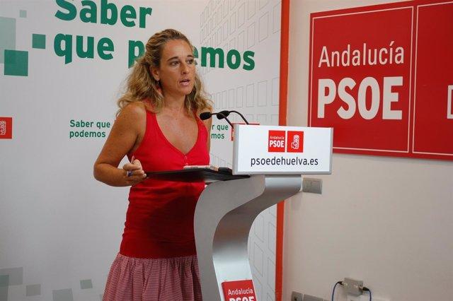 La Parlamentaria Andaluza Cinta Castillo