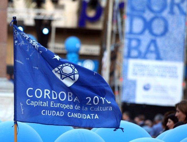 Bandera De La Capitalidad Cultural De Córdoba