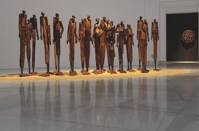 La  Exposición 'Desde El Sur Del Silencio', Del Cántabro Eloy Velázquez