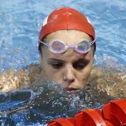 Recurso de la nadadora francesa Laure Manaudou