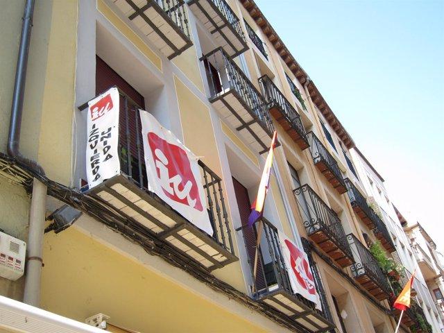 Sede De Izquierda Unida En Logroño
