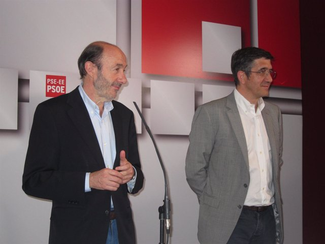 Alfredo Pérez Rubalcaba Y Patxi López