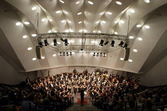 Banda De Música En El Auditorio