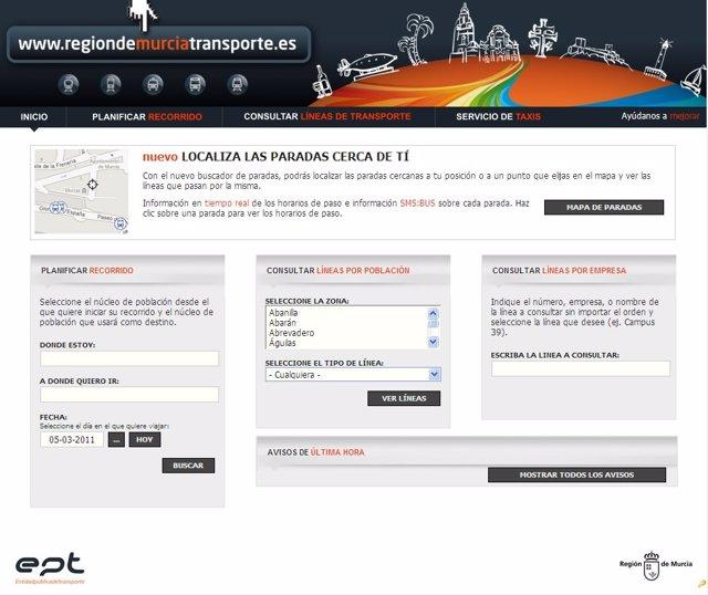 Portal Regional Del Transporte