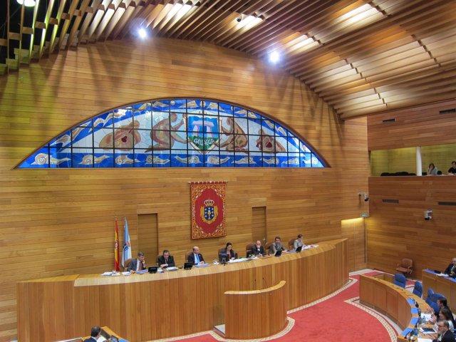 Hemiciclo Del Parlamento Gallego Vista General