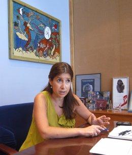 La Concejala Del Distrito Centro Del Ayuntamiento De Málaga, Gemma Del Corral