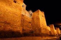 Imagen Nocturna De La Alcazaba