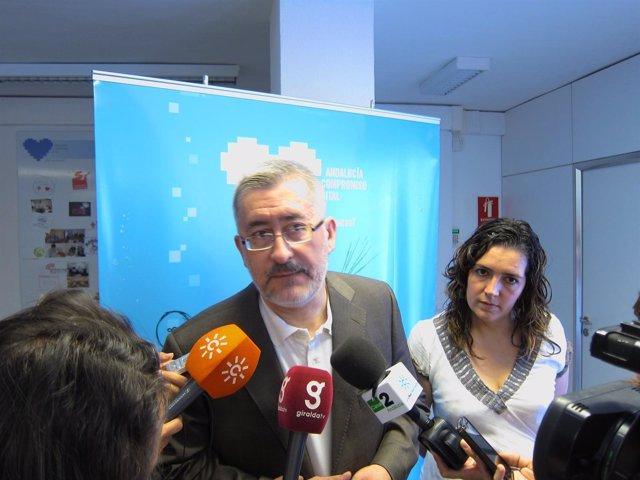El Consejero De Economía, Innovación Y Ciencia, Antonio Ávila