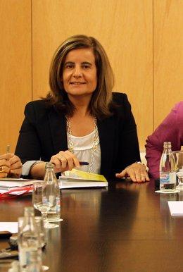 Fátima Báñez, portavoz económica del PP en el Congreso