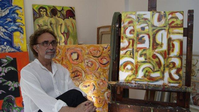 El Pintor Ignacio Salas.