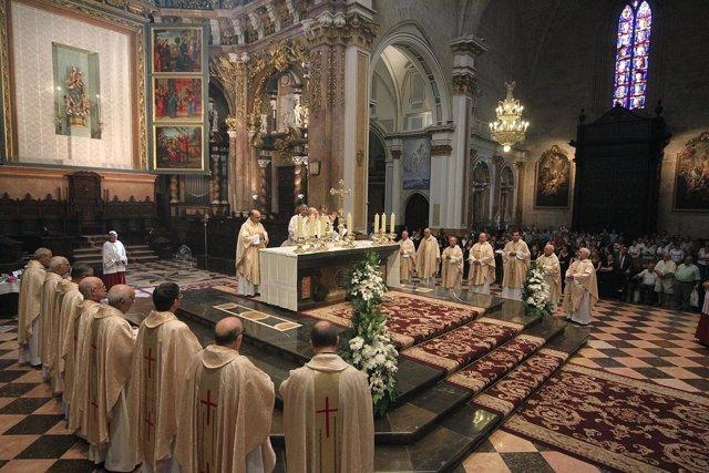 Celebración De La Homilía Del Corpus En Valencia