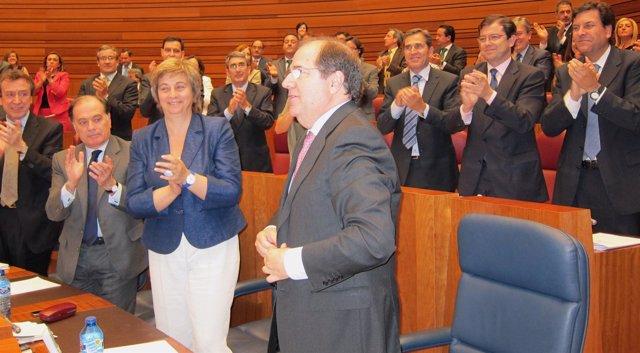 Juan Vicente Herrera Tras Ser Investido Presidente De La Junta