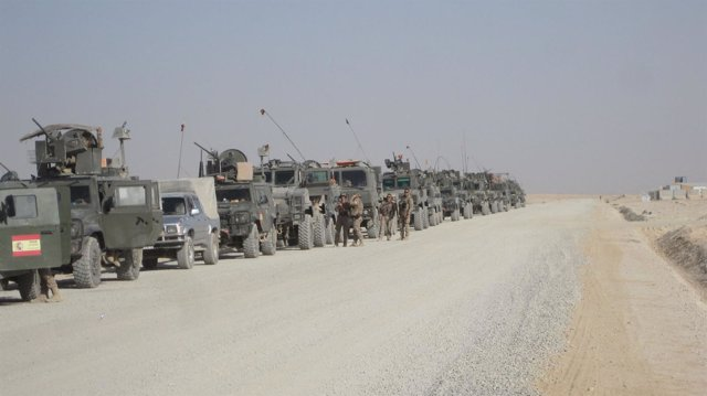 Batallón afgano formado por militares españoles