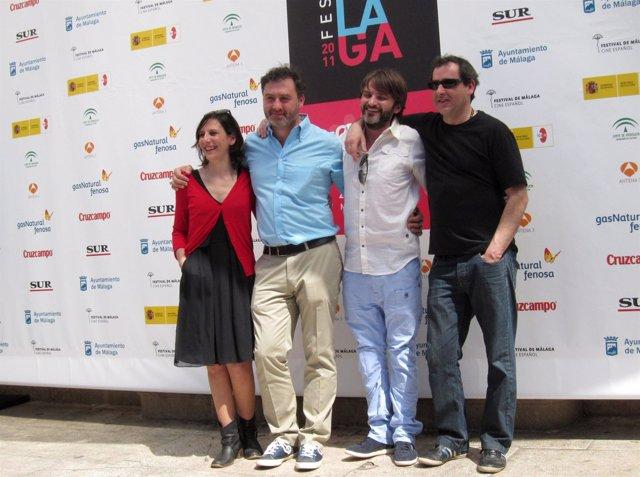 Malena Alterio, Max Lemcke, Fernando Tejero y Jorge Bosch