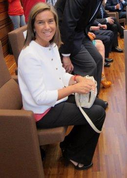La Vicesecretaria De Organización Y Electoral Del PP, Ana Mato