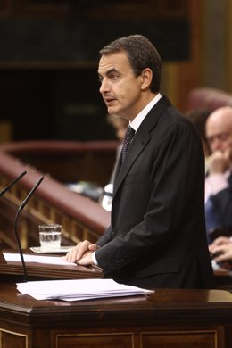 Primer Plano De José Luis Rodríguez Zapatero