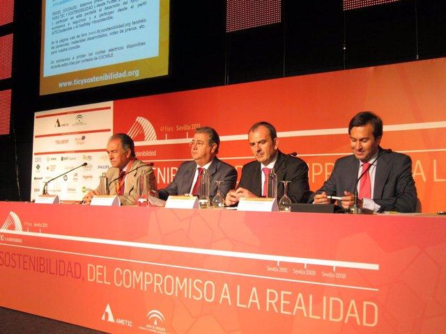 Inauguración Del IV Foro TIC Y Sostenbilidad