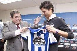 Jesús Vázquez, Presentado Como Jugador Deportivista