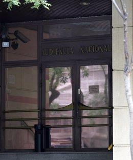 Puerta De La Audiencia Nacional Por EP