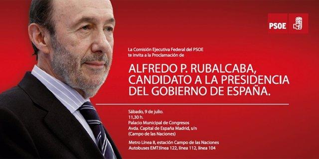 Cartel De Rubalcaba Como Candidato