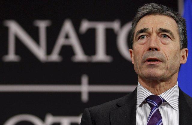 Secretario general de la OTAN, Anders Fogh Rasmussen