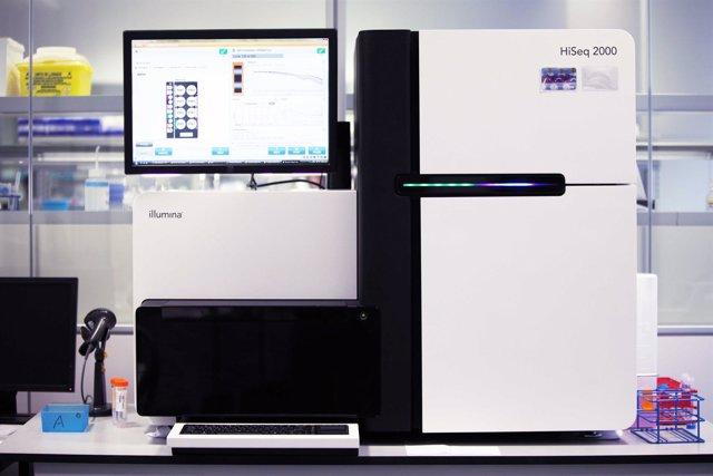 Secuenciador genómico, genoma, ADN, gen