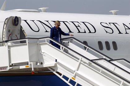 EEUU/España.- Clinton se entrevista mañana con el Gobierno, el Rey y Rajoy en su primera visita oficial a España