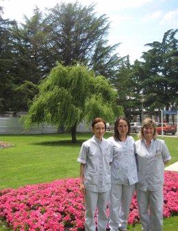 Tres De Las Autoras Del Trabajo Premiado Del CHN.