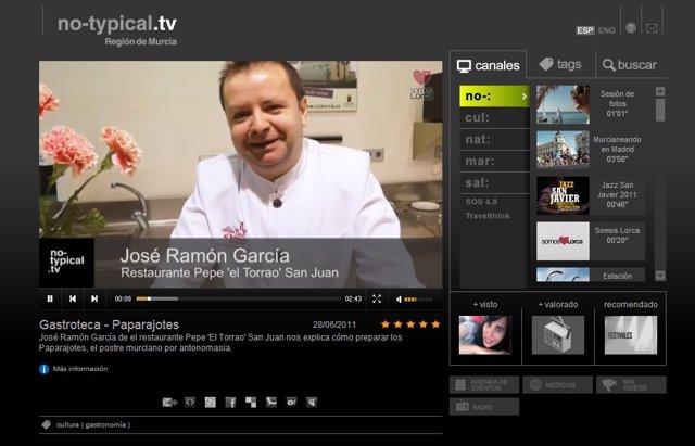 Imagen De La No-Typical Tv, Con El Nuevo Espacio Gastronómico
