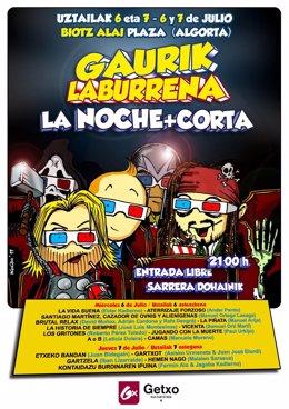 Cartel De 'La Noche + Corta'.