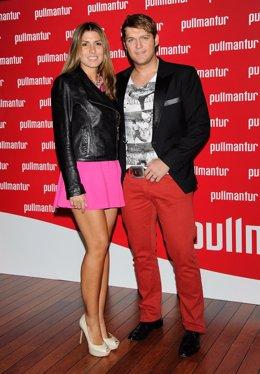 Manu Tenorio y Silvia Casas en el lanzamiento de la nueva revista de Pullmantur