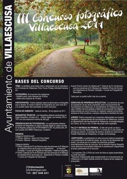 Cartel Concurso Foto Villaescusa.