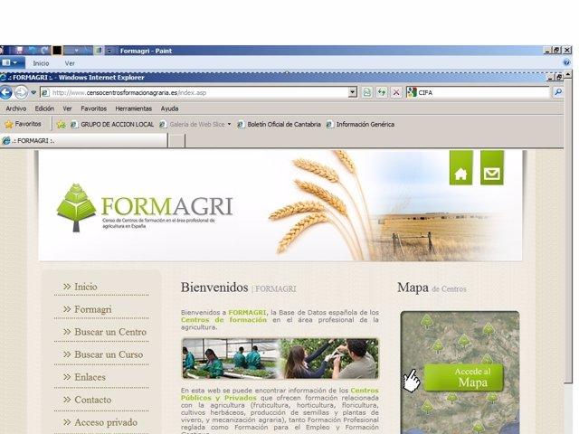Formagri,Censo De Centros Formativos Agrarios