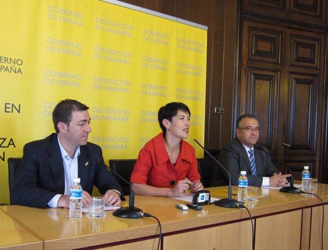 Roberto Jiménez, Elma Saiz Y Enrique Maya.