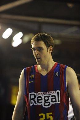 Erazem Lorbek Con El Regal FC Barcelona