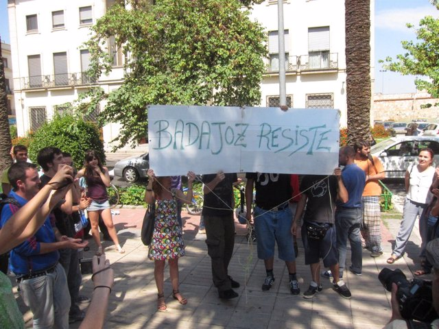Indignados Badajoz