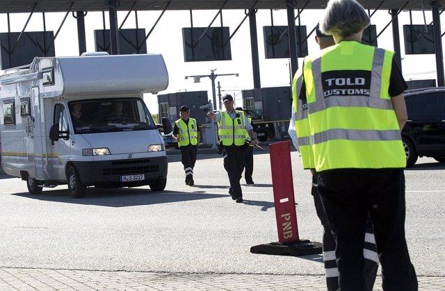 Controles En Las Fronteras De Dinamarca
