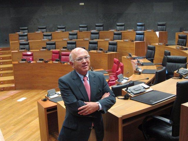 El Senador Autonómico Por Navarra, Pedro Eza.
