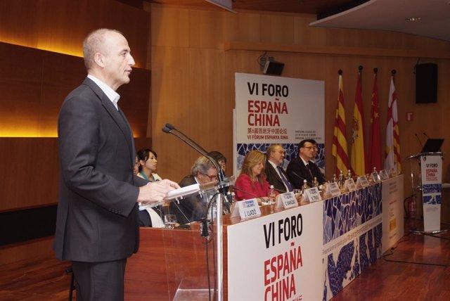 El Ministro Miguel Sebastián Inaugura El VI Foro España China
