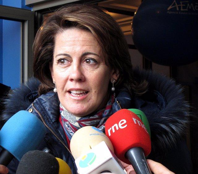 La presidenta de UPN y alcaldesa de Pamplona, Yolanda Barcina.