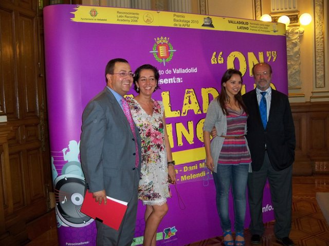 Prentación De La Gala 'On Valladolid Latino'