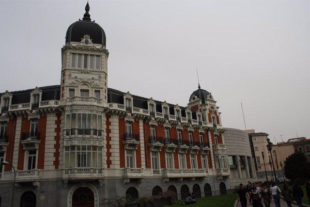 Senado en Madrid