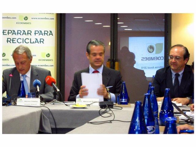 El Director General, El Presidente Y El Gerente De Ecoembes