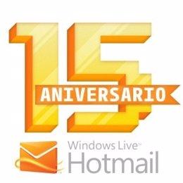 15 Años De Hotmail